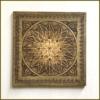 Kép 1/2 - Kép fából ornamentikus mintával a Bodzakunyhóban