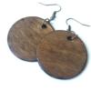 Kép 2/2 - Indás, zöld-barna fülbevaló