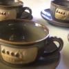 Kép 1/3 - Kerámia kávés készlet (használt)
