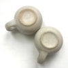 Kép 2/3 - Krémszínű csésze pár !Használt!