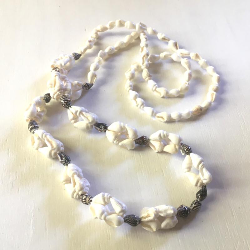 Nyári kagyló nyaklánc
