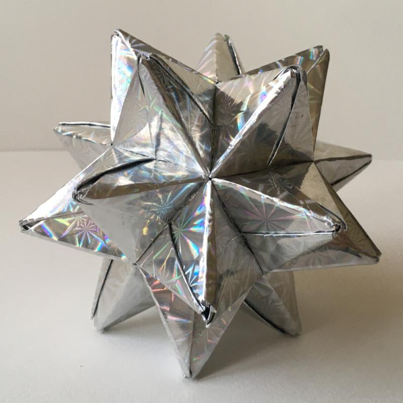 Origami csillag